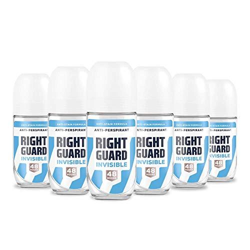 Right Guard Womens Total Defence 5, Invisible Anti-Perspirant Deodorant Roll On 6 x 50 ml £5.03 (Prime) + £4.49 (non Prime) at Amazon