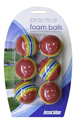 Longridge Foam Practice Golf Balls 6 Pack £1.18 (Prime) + £4.49 (non Prime) at Amazon