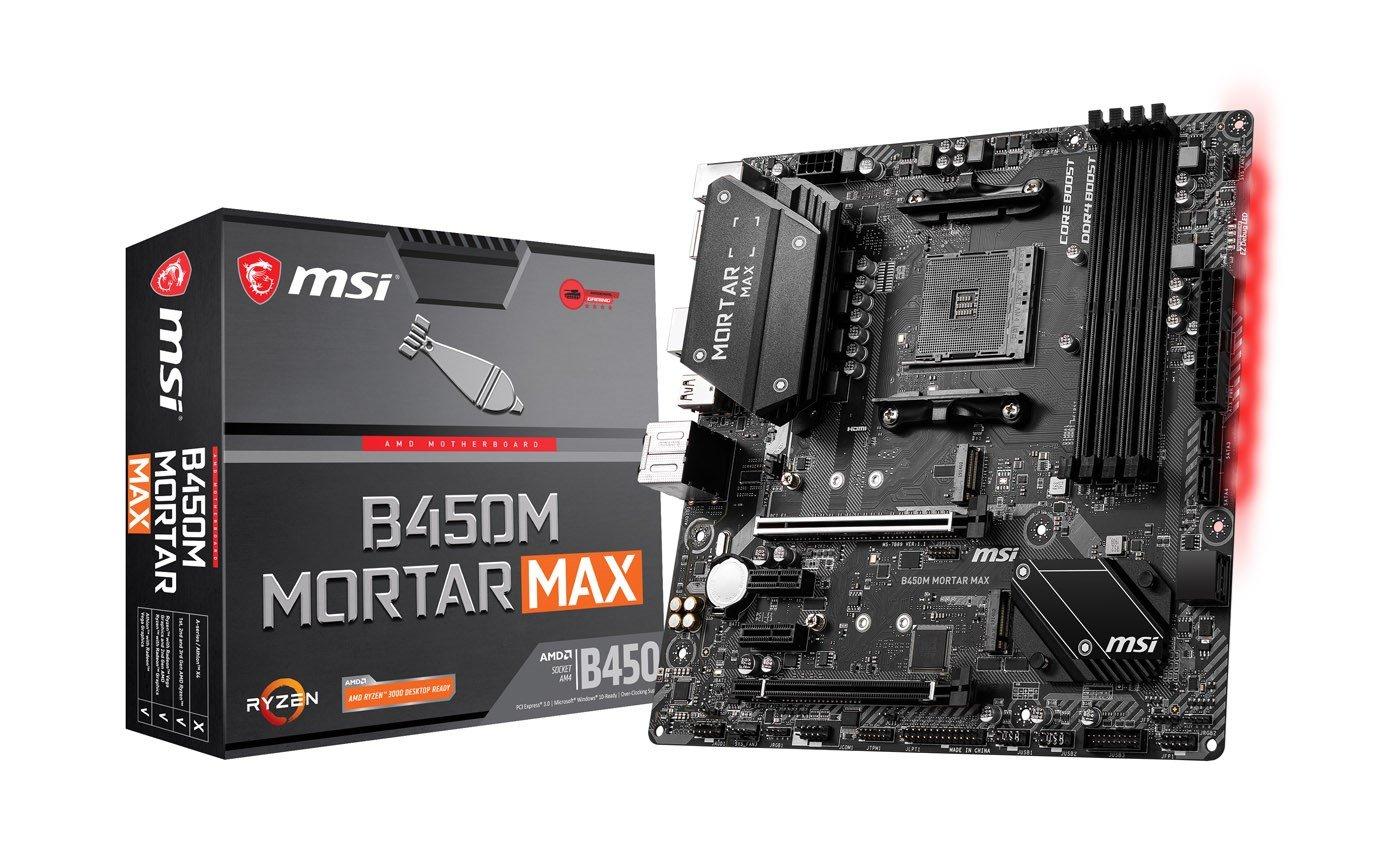 MSI B450M MORTAR MAX AMD Socket AM4 Motherboard £59.99 delivered at CCL Online