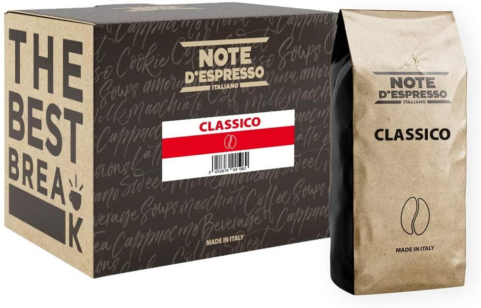 Note D'Espresso Classico coffee beans 2x1000g - £10.79 (+£4.49 nonPrime) Amazon