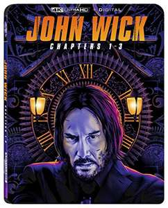 John Wick 1-3 [4K UHD] - £18.30 (+£2.99 Non Prime) (UK Mainland) Sold & dispatched by Amazon US @ Amazon