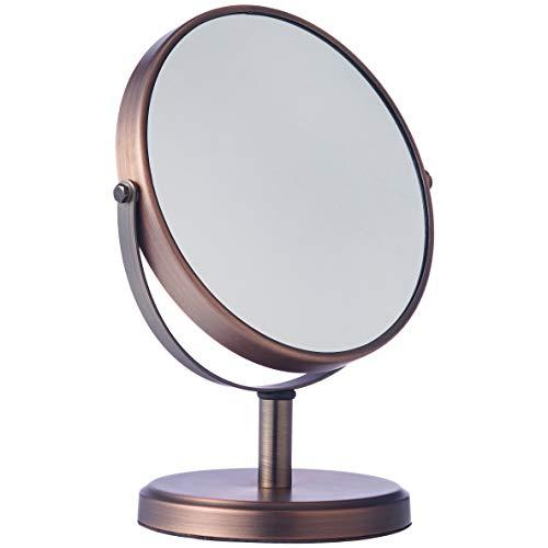 Amazon Basics Dual Sided Modern Vanity Mirror Bronze £9.46 (Prime) + £4.49 (non Prime) at Amazon
