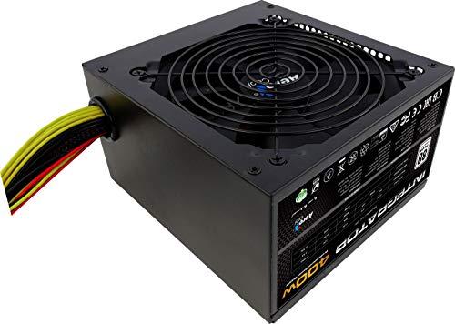 Aerocool Integrator 400 W 80 Plus Bronze Power Supply Unit with UK 3 Pin Power Lead £16.59 (Prime) + £4.49 (non Prime) at Amazon