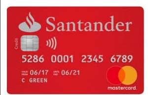 £0 Monthly Fee + 0% interest on balance transfers for 18m & 3m PURCHASES credit card @ Santander (Representative 20.9% APR, variable)