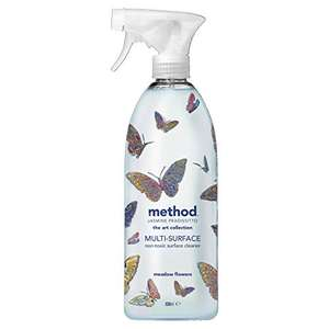 Method Multi Purpose Cleaner, Limited Edition, Meadow Flowers 828ml £2.33 / £2.10 (Prime) + £4.49 (non Prime) at Amazon