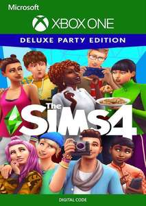 The Sims 4 Deluxe Party Edition Xbox One (US) £3.99 CDKeys
