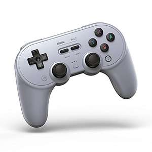 8Bitdo Pro 2 Bluetooth Controller for Switch, PC, macOS, Android, Steam & Raspberry Pi (Gray Edition) - £34.92 @ Amazon