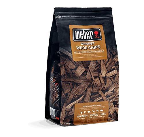 Weber Smoking Wood Chips - Whiskey £5.72 / Hickory £5.03 (+£4.49 NonPrime) (UK Mainland) Sold by Amazon EU @ Amazon
