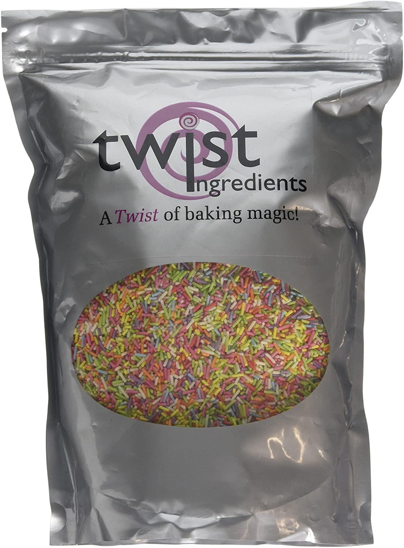 Twist Ingredients Vermicelli Multicoloured 1 kg - £4.13 (+£4.49 Non Prime) @ Amazon