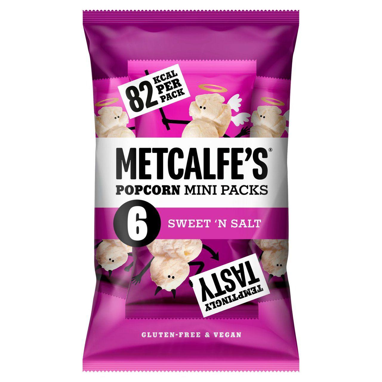 Metcalfe's skinny Sweet 'n Salt Multipack Popcorn x66 x 17g - £1 @ Morrisons