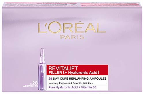 L'Oreal Paris Revitalift Filler Hyaluronic Acid Ampoules 28-Day Bumper Pack £14.13 (Prime) + £4.49 (non Prime) at Amazon