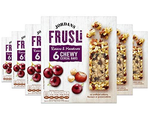 Jordans Frusli Raisin & Hazelnut | Cereal Bars £1 Prime (+£4.49 Non Prime) @ Amazon