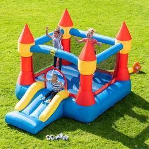 Happy Hop Castle Bouncer with Slide £159.99 at Smyths Toys click and collect