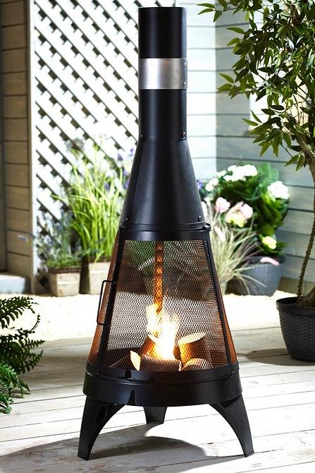 Steel Rocket Chiminea - £69.99 + £4.99 Delivery @ Studio (UK Mainland)