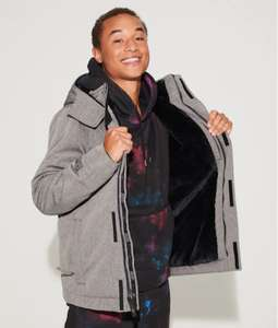 Hollister Faux Fur Jackets (Various Styles XS - XL) £27.99 & Free Delivery via the App @ Hollister