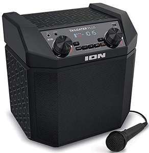 ION Audio Tailgater Plus - 50 W Portable Outdoor Bluetooth Speaker with Built-In Rechargeable Battery - £78.99 delivered at Amazon