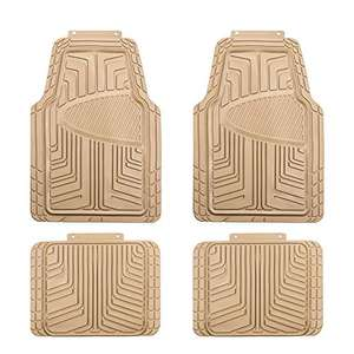 Amazon Basics 4-Piece All-Season Rubber Floor Mat for Cars, SUVs and Trucks - £13.02 (Prime) + £4.49 (non Prime) at Amazon