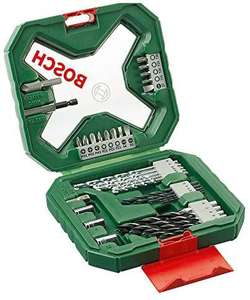 Bosch 34-Piece X-Line Classic Screwdriver and Drill Bit Set (Wood, Masonry and Metal) £9 @ Amazon (£4.49 p&p non prime)