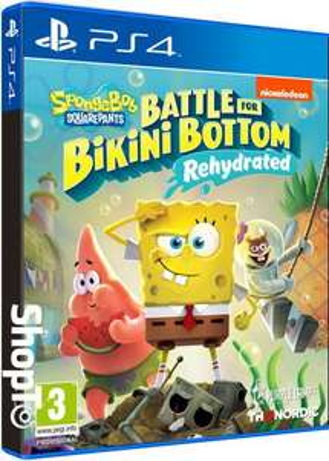Spongebob SquarePants: Battle for Bikini Bottom -Rehydrated (PS4 / Xbox One) £13.85 Delivered @ Shopto