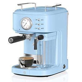 Swan SK22150BLN Retro Semi Auto 1.7L Coffee Machine - Retro Blue £129.99 free delivery at Robert Dyas
