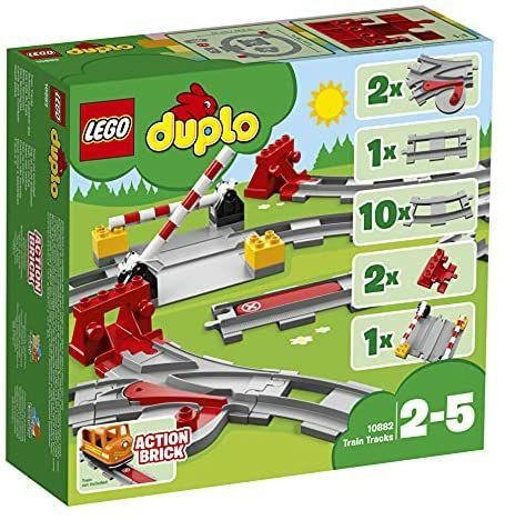 LEGO DUPLO 10882 TownTrainTracks£11.97 (+ £4.49 non Prime) @ Amazon