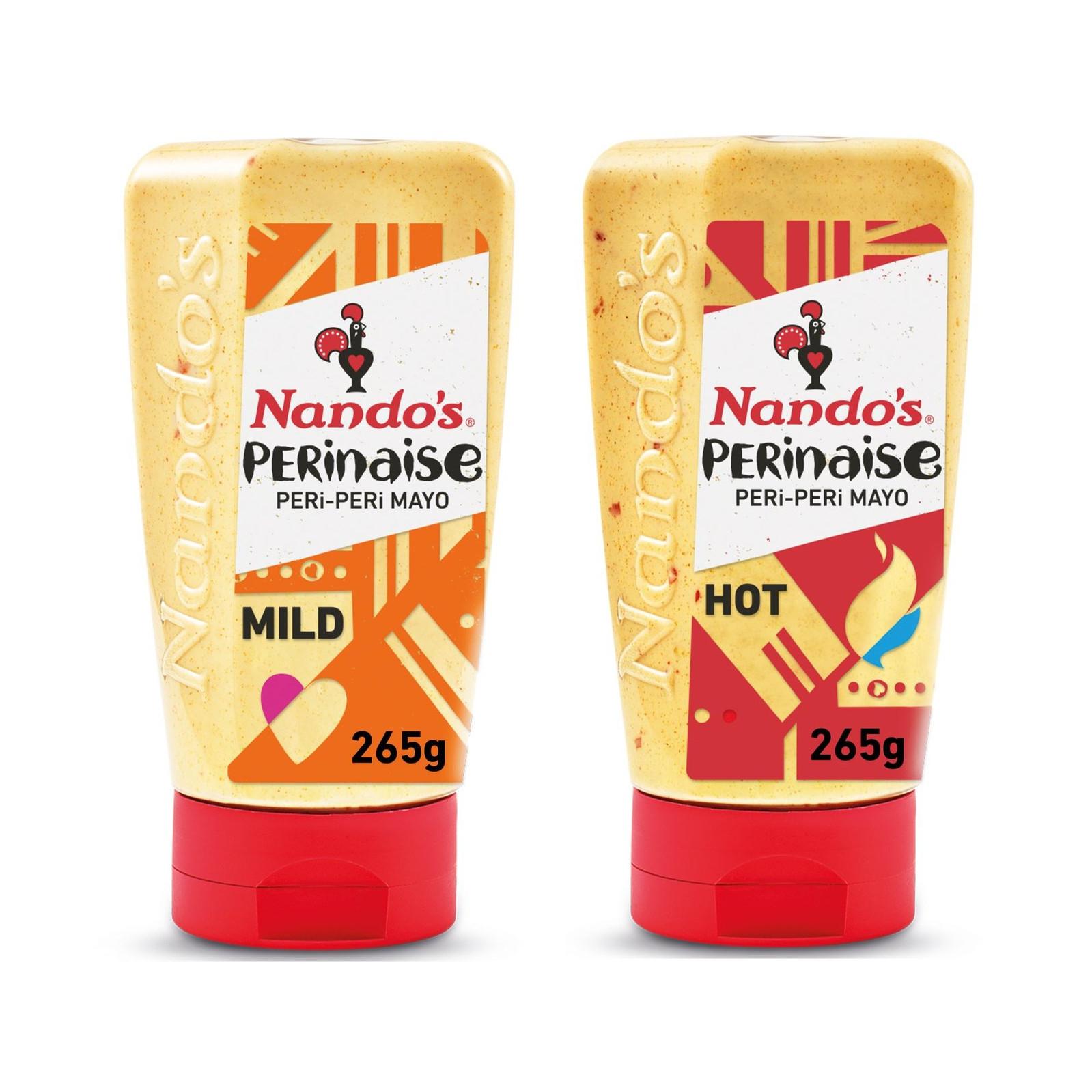 Nando's Perinaise Peri Peri Mayonnaise Mild or Hot 265g - £1.50 each @ Morrisons