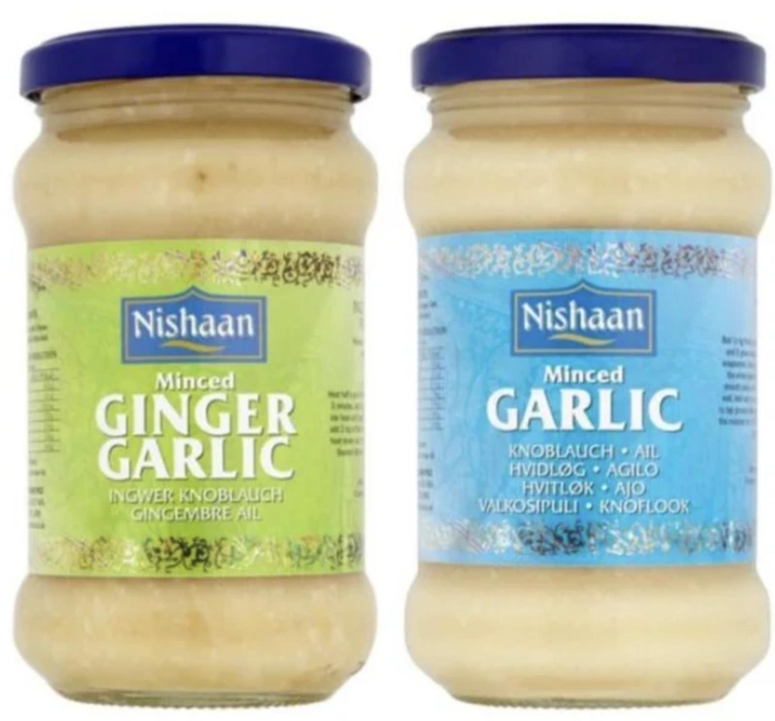 Nishaan Garlic Paste 283G,Nishaan Ginger Garlic Paste 283G Each - 90p (Clubcard Price) @ Tesco