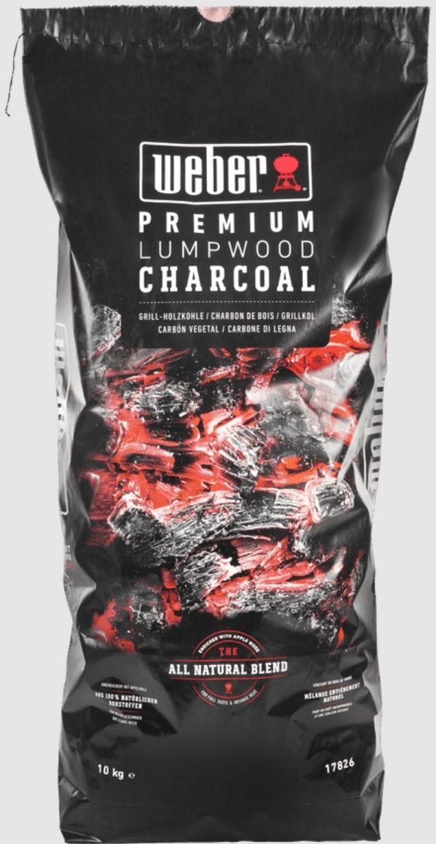 Weber Premium Lumpwood 10kg £15.40 (+£4.49 nonPrime) (UK Mainland) Sold by Amazon EU @ Amazon