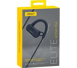 Jabra Elite Active 45e Wireless Bluetooth Sports Earphones - Black £14.98 at Currys PC World In-store ONLY but Nationwide