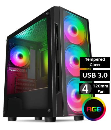 AMD BEST BUY (FAC6) - Ryzen 3100 + RTX2060 + 16GB Ram + 480GB / 1TB Gaming System from £775 at Palicomp