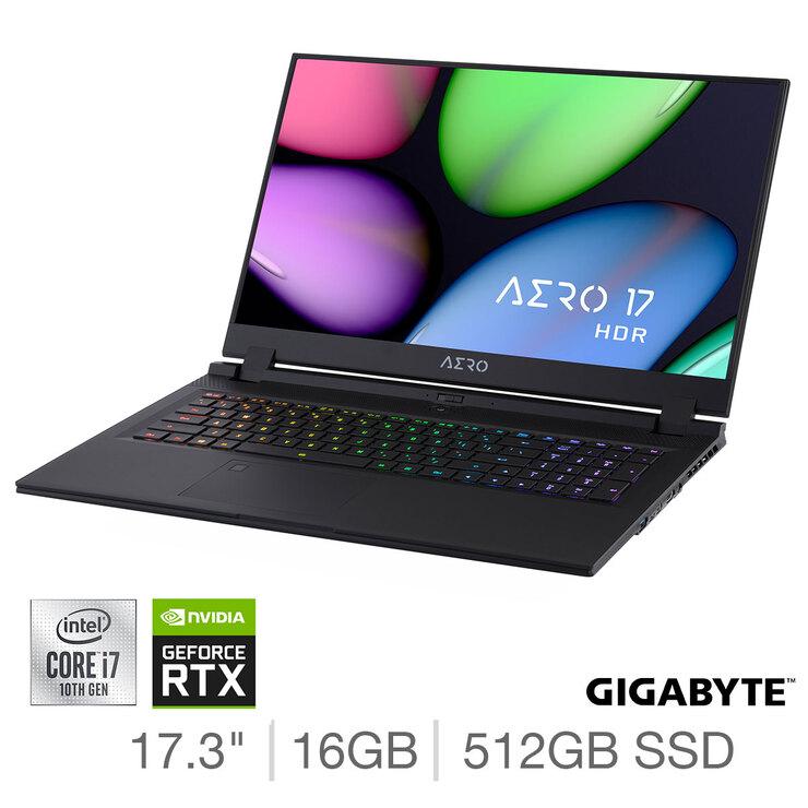 GIGABYTE AERO 17 HDR, Intel Core i7, 16GB RAM, 512GB SSD, NVIDIA GeForce RTX 2070 Gaming Laptop £1849.99 del (Membership Required) @ Costco