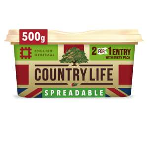 Country Life Spreadable 500g. 99p FarmFoods