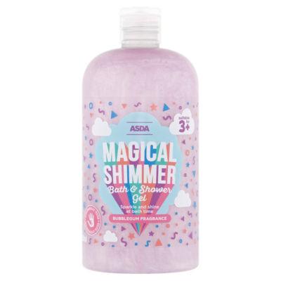 Asda magical shimmer bath & shower gel 500ml £1 at Asda Sealand road Chester