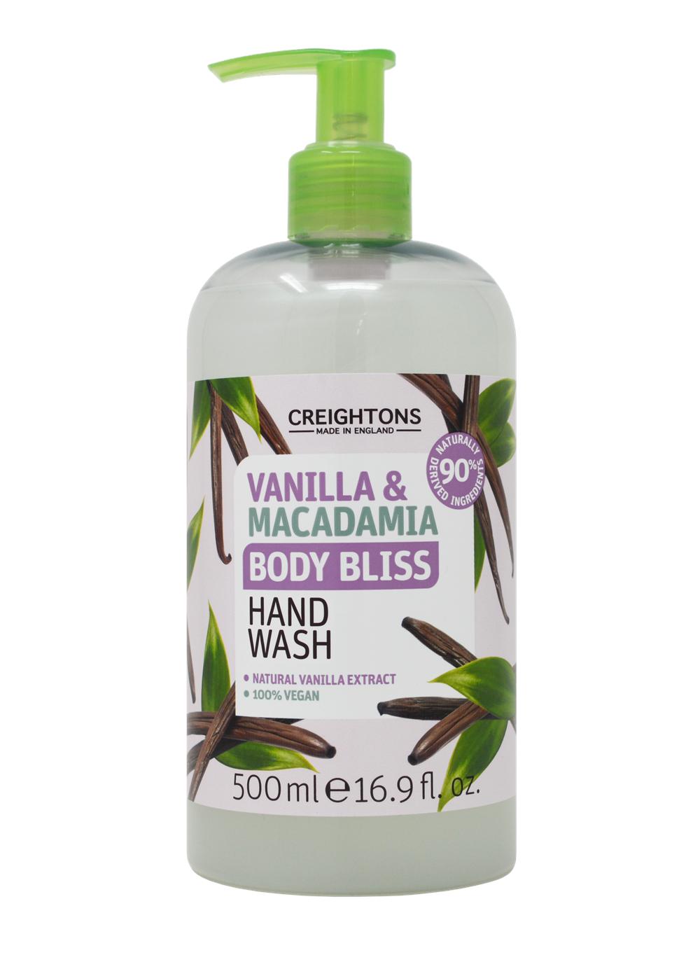 Creightons body bliss vanilla & macadamia hand wash 500ml £1 @ Asda (Chester)
