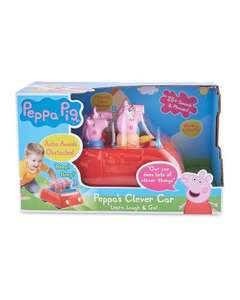 Peppa Pig's Electronic Clever Car £9.99 (In store only) at Aldi Stoke-on-Trent