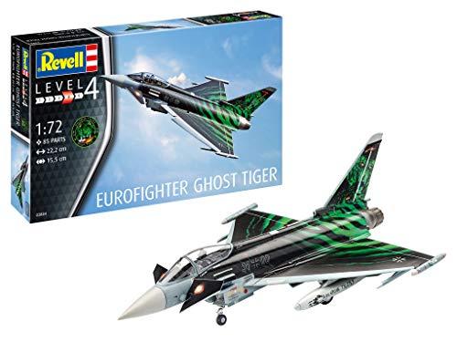 Revell Eurofighter Typhoon 'Ghost Tiger' 1:72 Plastic Model Kit 03884 - £10.94 (+£4.49 Non Prime) @ Amazon