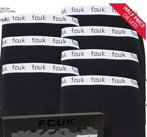 French Connection Mens FCUK Seven Pack Boxers FCUK 2 Black £24.99 (£4.99 delivery) @ MandM Direct