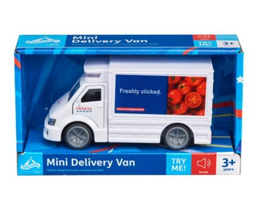 Carousel Mini Delivery Van £3.25 @ Tesco