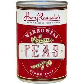 Harry Ramsden's Marrowfat Peas reduced to 10p with good BBE 2023 instore @ B&M Retail