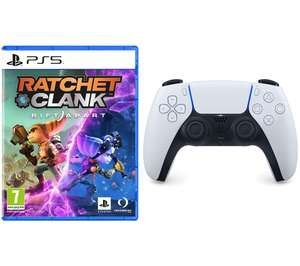 Ratchet & Clank: Rift Apart & PS5 DualSense Wireless Controller Bundle £94.99 Delivered using code @ Currys / PCWorld