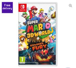 Nintendo Switch Super Mario 3D World & Bowser's Fury £34.99 @ Currys