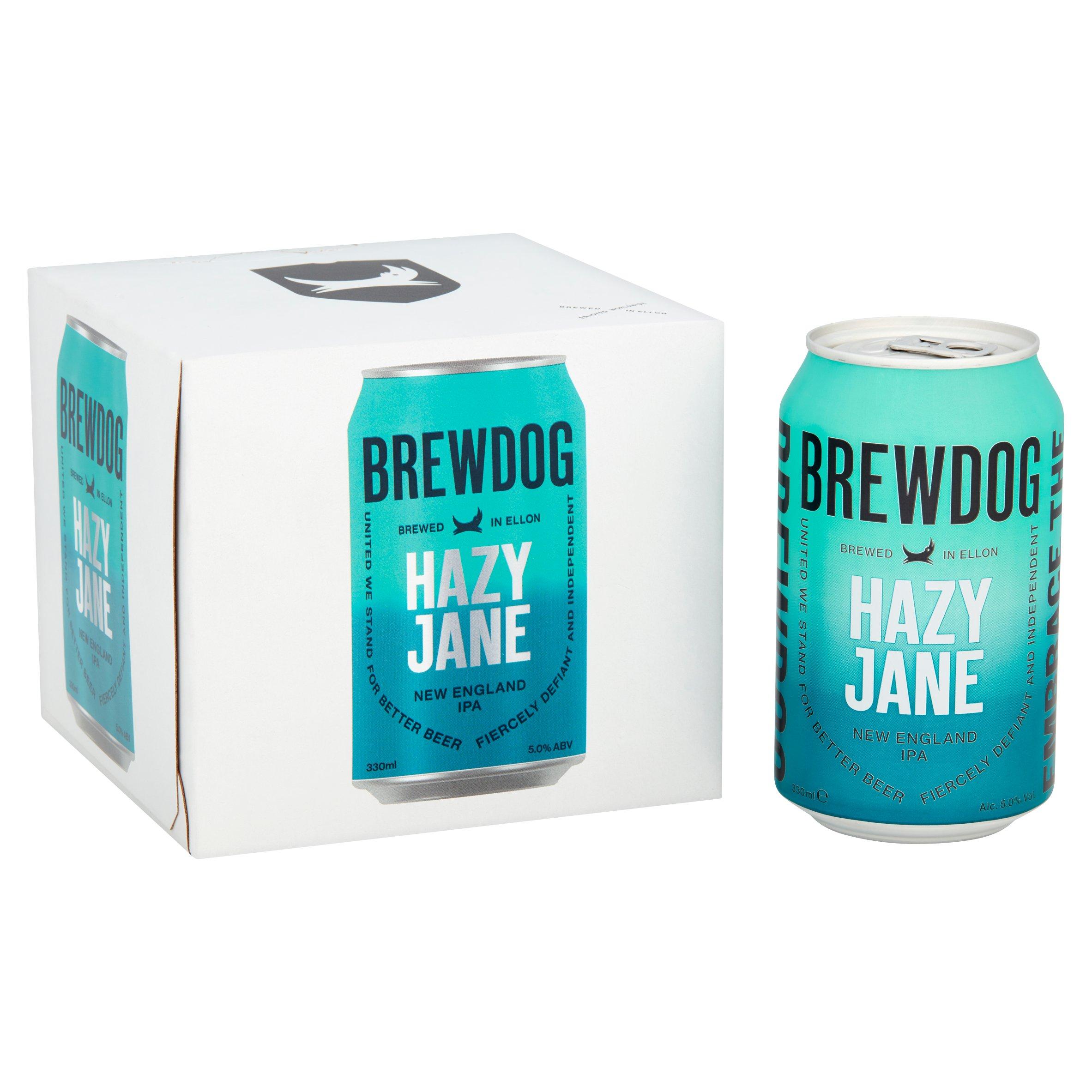 Brewdog Hazy Jane New England Ipa 4X330ml Can - £4.50 with Clubcard @ Tesco
