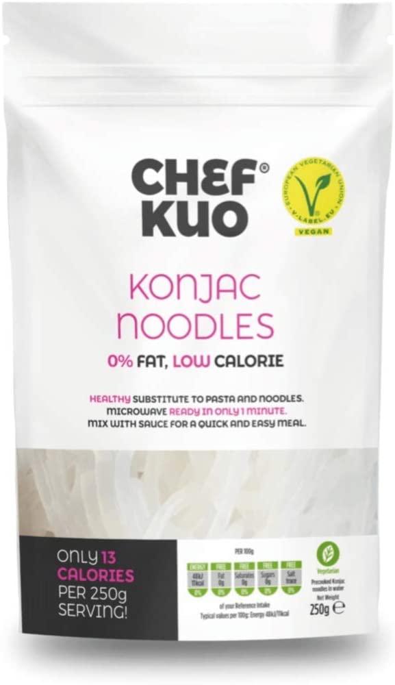 Konjac Noodles (Low Carb/Low Calorie) Chef Kuo £1 @ B&M Stores (Redditch)