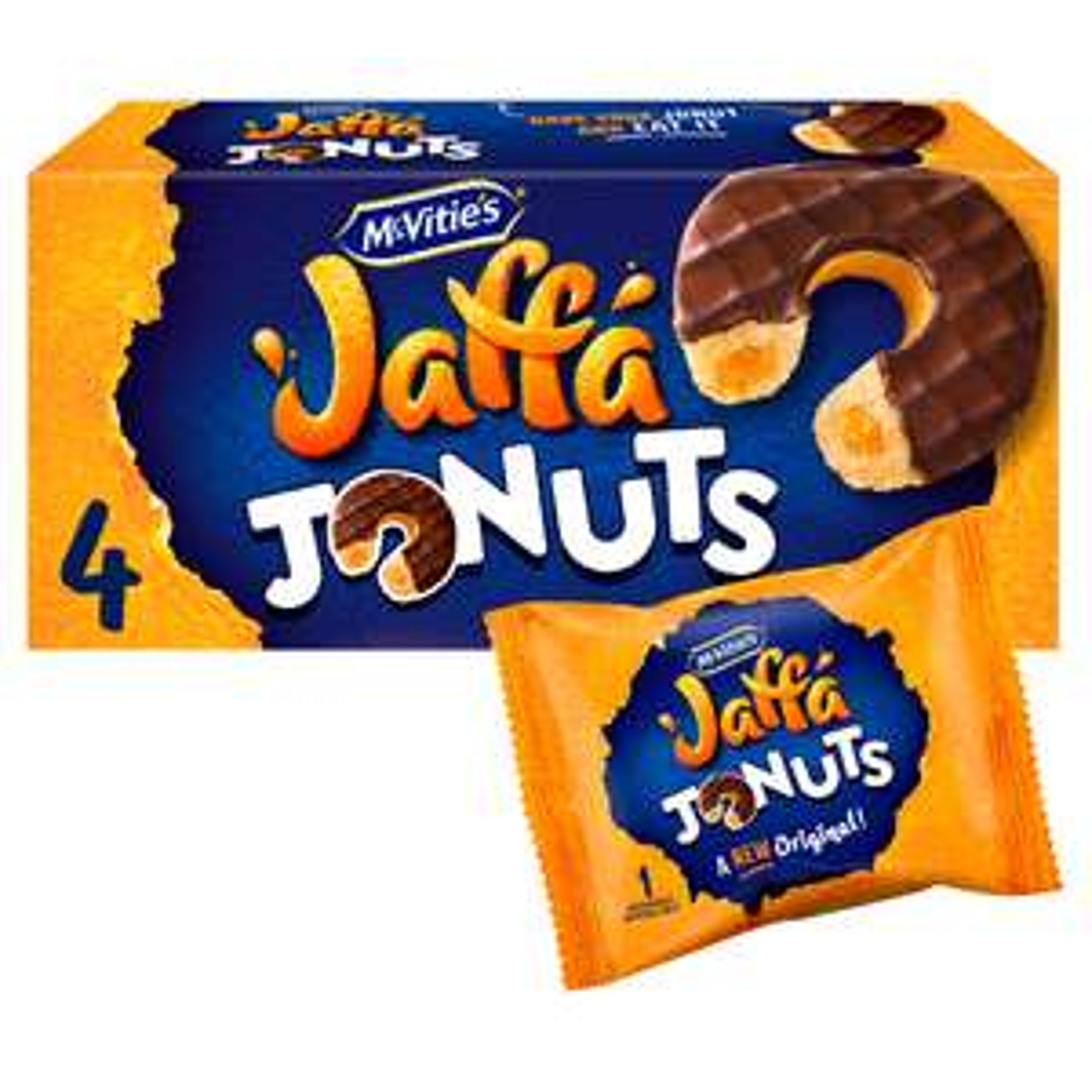 Mcvitie's Jaffa Cake Jonuts Biscuits 4 pack £1.13 @ Tesco express (Hammersmith)