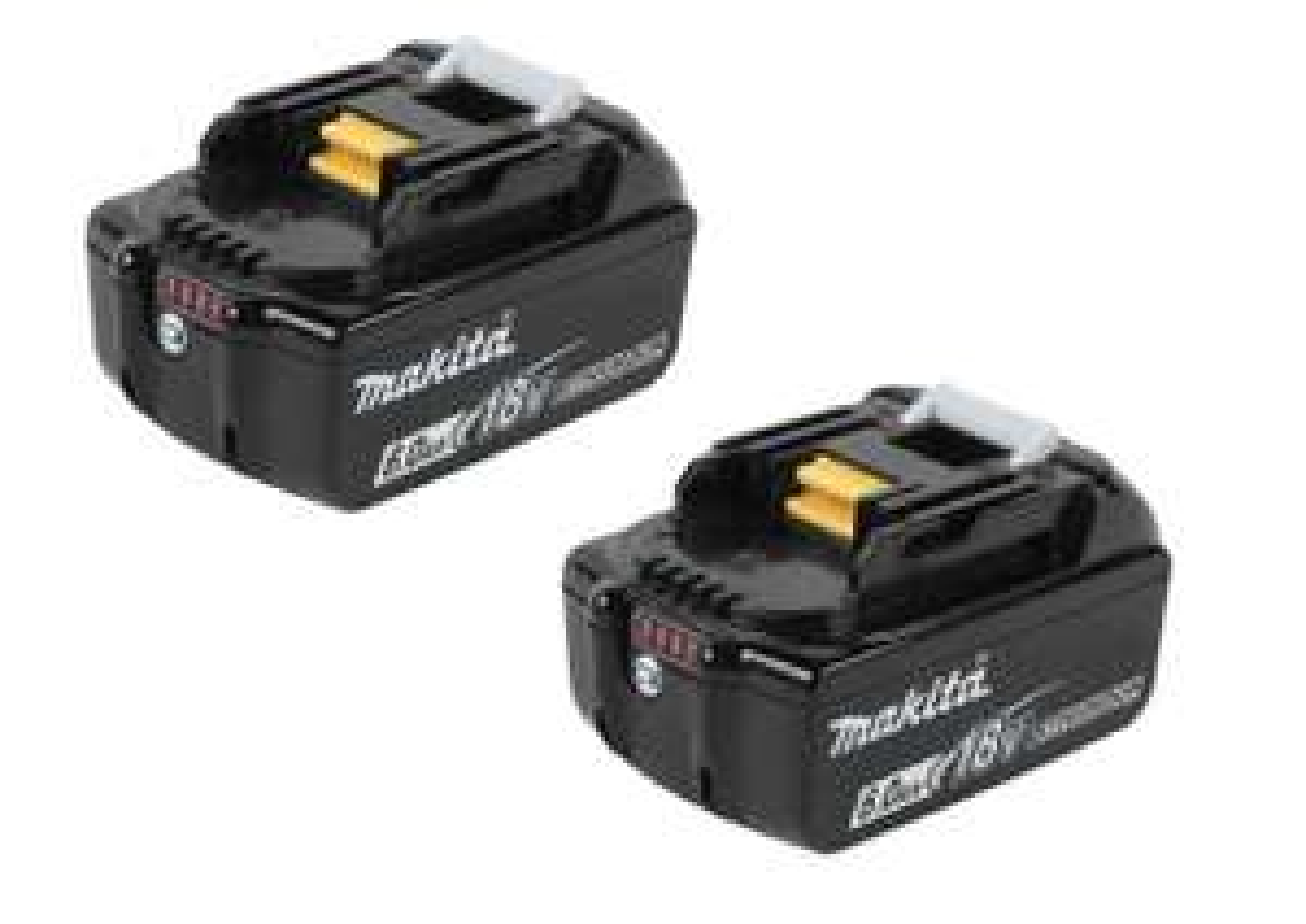 2 x Makita 6.0AH batteries £149 @ FFX