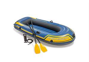 Intex Challenger Inflatable Boat Set with Oars + Inflator £50.44 @ Amazon