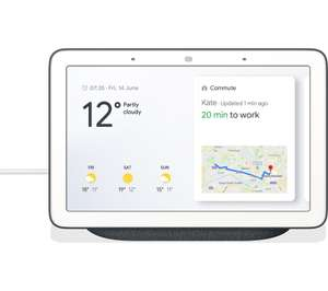 Google Nest Hub Charcoal (1st gen) £47.97 with code @ Currys PC World