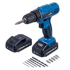 Pro-Craft 18V Li-Ion Cordless Drill Driver with 13-Piece Accessory Kit and 2 Batteries £34.99 Free Collection / £4.95 delivery @ Robert Dyas