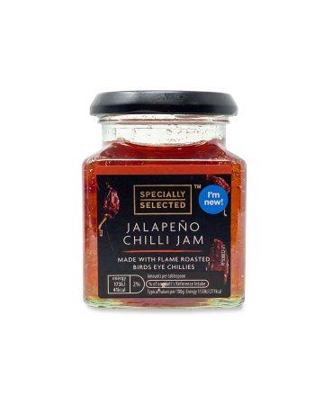 Caramelised Red Onion Chutney/Chutney Plum&Apple/Jalapeno Chilli Jam 305g 89p @ Aldi