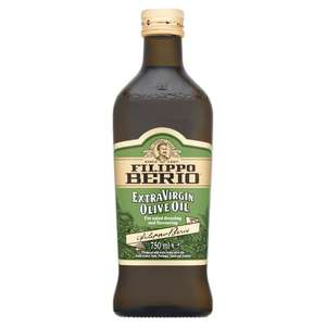 Filippo Berio Extra Virgin Olive Oil 750ml £3.50 @ Sainsbury's